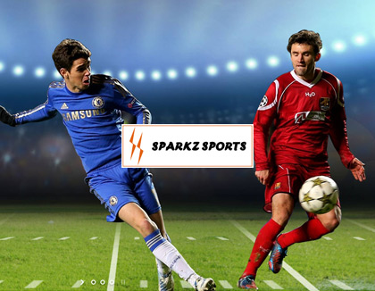 Sparkz Sports Website Design